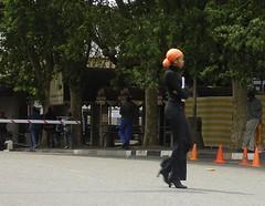 City of Jo'burg (kool_skatkat) Tags: street orange woman black donna mujer walk femme mulher mara frau grua vrouw perempuan muller dona babae    naine kvinne  nainen kobieta koolskatkat  kvinde fminit  ena kvinna kadn n femeie  moteris enska sieviete    phn
