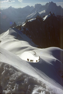 arete Aiguille du Midi - Aiguille du Plan