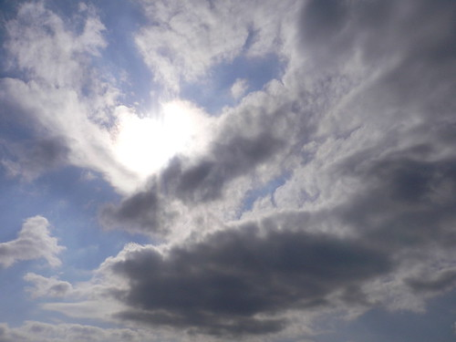 sky, cloud, the sun