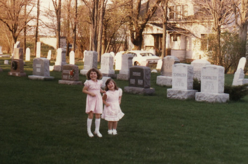 1980 - Four years old and already in the cemeteries.