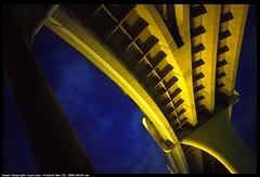 Abstract Fremont Bridge