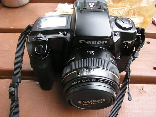 An SLR Film Camera