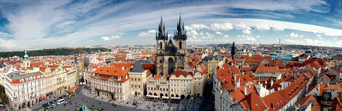 A view over Prague