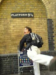 Harry Potter! (NatBat) Tags: london harrypotter simonwillison simon cameraphone