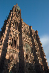 Strasbourg Cathedral at sunset