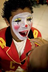 the time ( Tatiana Cardeal) Tags: 2005 boy brazil people brasil digital children hope sopaulo clown photojournalism documentary orphanage carf diadema tatianacardeal marcos streetkids favela slum ong ngo brsil socialchange documentaire documentario childrenatriskfoundation