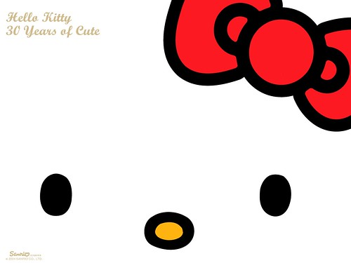 hello kitty wallpaper desktop. Sanrio's Hello Kitty 30th Anniversary Desktop Wallpaper