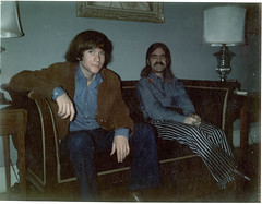 Joe and Me 1969 (Vermont Ferret) Tags: alexandria hippies 60s nashville moustaches mustache folksingers janisjoplin tash staches debbiereynolds dumbstruck flickryear episcopalhighschool hippieclothes antiquesroadshow smithsonianmagazine guitarmakers divorcelawyers racistfreaks buffysaintemarie