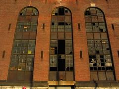 Broken Glass (Gowanus) Tags: nyc newyorkcity windows urban ny newyork abandoned broken window industrial decay urbandecay queens lic powerplant longislandcity powerhouse industrialdecay