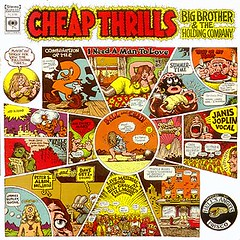 cheap thrills - big brother & the holding company (oddsock) Tags: coverart robertcrumb janisjoplin cheapthrills bigbrothertheholdingcompany