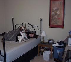 In bed (detarame) Tags: haplo sawah livingspaces