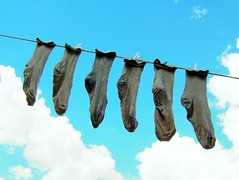 The Afeman's socks