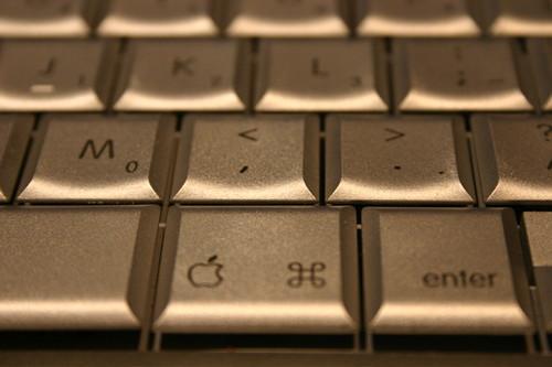 Powerbook keyboard
