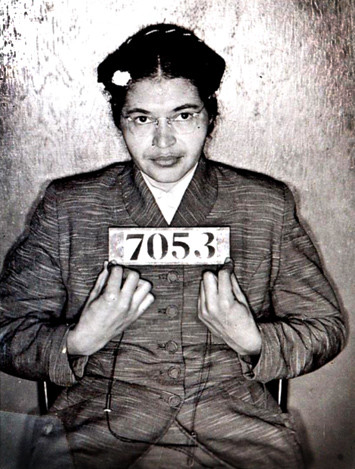Rosa Parks by inconstanti.