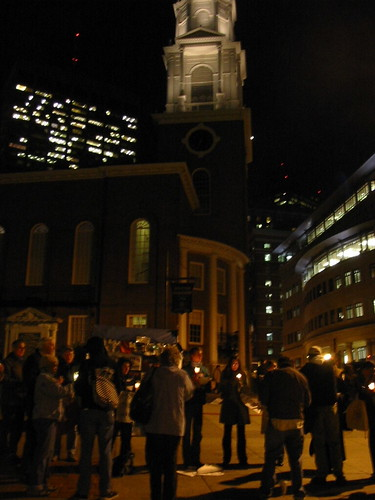 candlelight vigil boston
