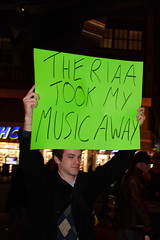 THE RIAA TOOK MY MUSIC AWAY