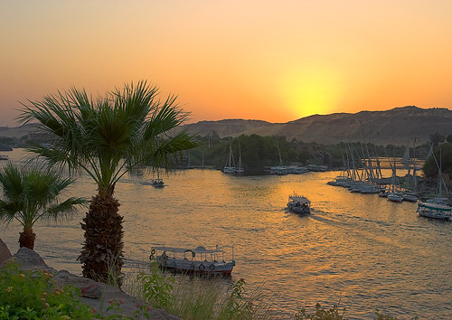 River Nile, Aswan, Egypt by Goldmanoz.