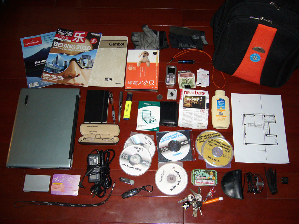 What's in my bag [2005-10-29]