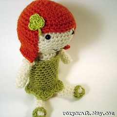 irish ramona 2 (Roxycraft) Tags: amigurumi softies plush mos crochet handmade