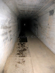 Inside the Death Tunnel at Waverly Hills Sanitorium in Louisville, KY (joschmoblo) Tags: copyright building historic haunted creepy spooky orbs waverly allrightsreserved hauntedhouse 2007 waverlyhills waverlyhillssanitorium hauntedplace joschmoblo christinagnadinger