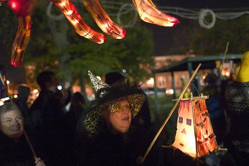 Patterson Park Lantern Parade - Baltimore, 2005