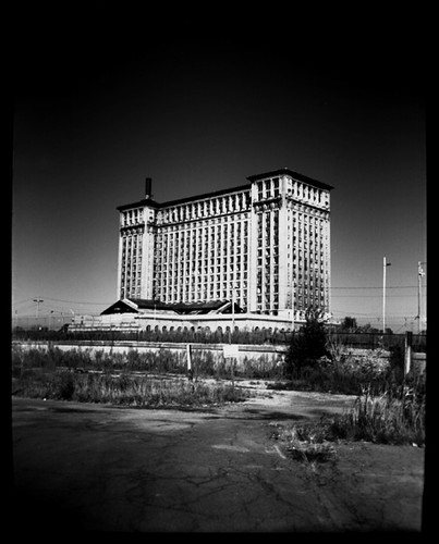 Holga: Michigan Central Station, Detroit / Matt Callow