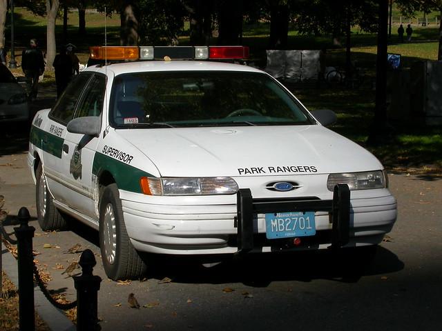 boston massachusetts parkranger ranger ford taurus