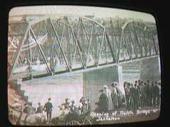 Opening of the Victoria Bridge
