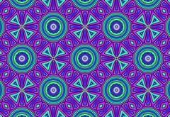 mod squad (Sweet Lisa Jay) Tags: kaleider catchycolors purple green blue mod