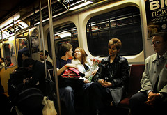 Love On the Rails (dzgnboy) Tags: toronto subway ttc blogtotransitcontest