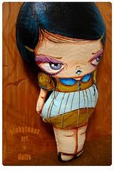 small birdcage doll 7 (pinkytoast) Tags: doll handmade mos pinkytoast girl bigeyed toy