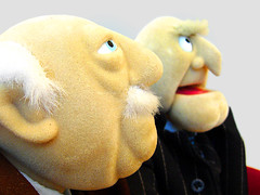 convincing team (stereotyp-0815) Tags: show balcony muppets statler waldorf 2304 muppetshow