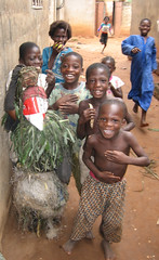 kids in Ouidah