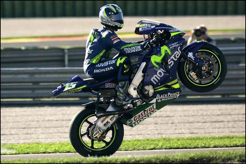 Sete Gibernau Standing Motorcycle