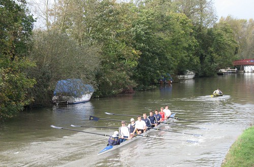 Oxford - University College rowers training