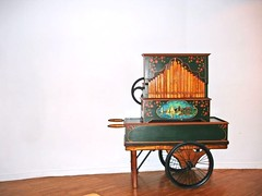 Old barrel organ (Julie70) Tags: france old 2005 mc05negativespace mc05 mc organ barrelorgan