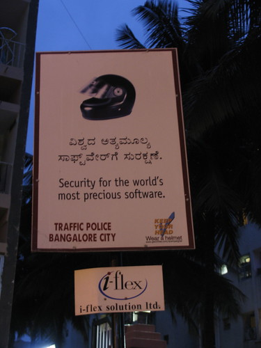 road safety education, bangalore style