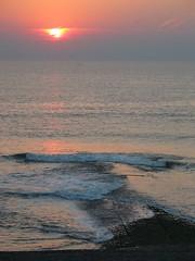 The Hondsbossche, august 2005 (b_welle) Tags: hondsbossche dike sunset