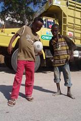 A couple of footballers (CharlesFred) Tags: africa port democracy peace african birth indianocean afrika somali birthplace horn stable somalia somaliland afrique hornofafrica eastafrica berbera stability mycountry easternafrica gulfofaden placeofmybirth parliamentarydemocracy cityofberbera somalilandprotectorate forgottencountry oasisofpeace somaaliya africasbestkeptsecret landofpunt landofsomalis fellowsomalis peacefullandofpeace