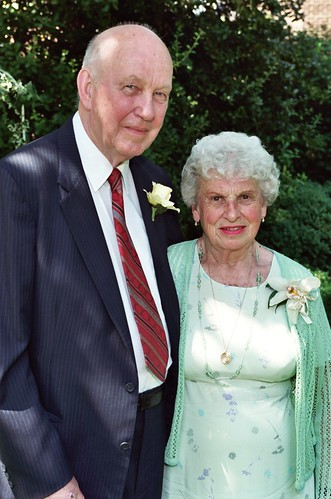 nana & pop-pop at our wedding