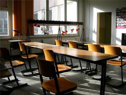 Class room by The Infatuated.