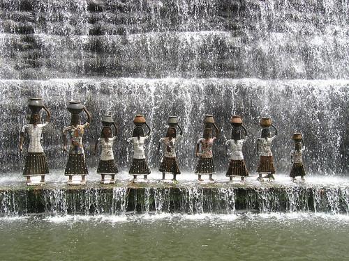 Nek Chand Waterfall