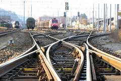 St. Margrethen - Switzerland (Kecko) Tags: 2005 station train geotagged switch schweiz switzerland suisse swiss stmargrethen kecko ostschweiz rail railway zug bahnhof sbb svizzera rheintal verkehr weiche swissphoto rheintalbild geo:lat=47451595 geo:lon=964753