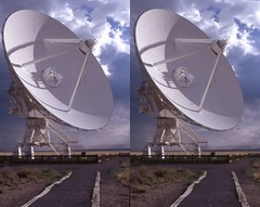 radio_telescope-01 (John Kittelsrud) Tags: newmexico stereogram 3d crosseye space stereo telescope stereoview socorro vla radiotelescope