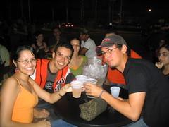adri el churro y carlos!! (dianelamavarez) Tags: feria de la chinita maracaibo carlos adri churro cerveza beer draf regional
