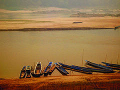 Mekong (Disorganised Photographer - Ian Wade - Travel, Wil) Tags: travel summer vacation brown holiday beauty river landscape ian fun boat asia pentax dream journey wade tone accent loas mekong ianwade1975