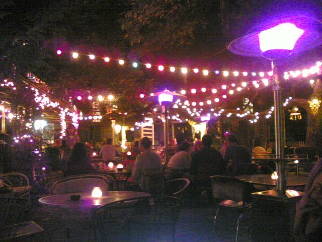 Spider House Cafe, Austin, Tx