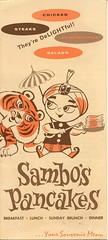 Sambo's Menu