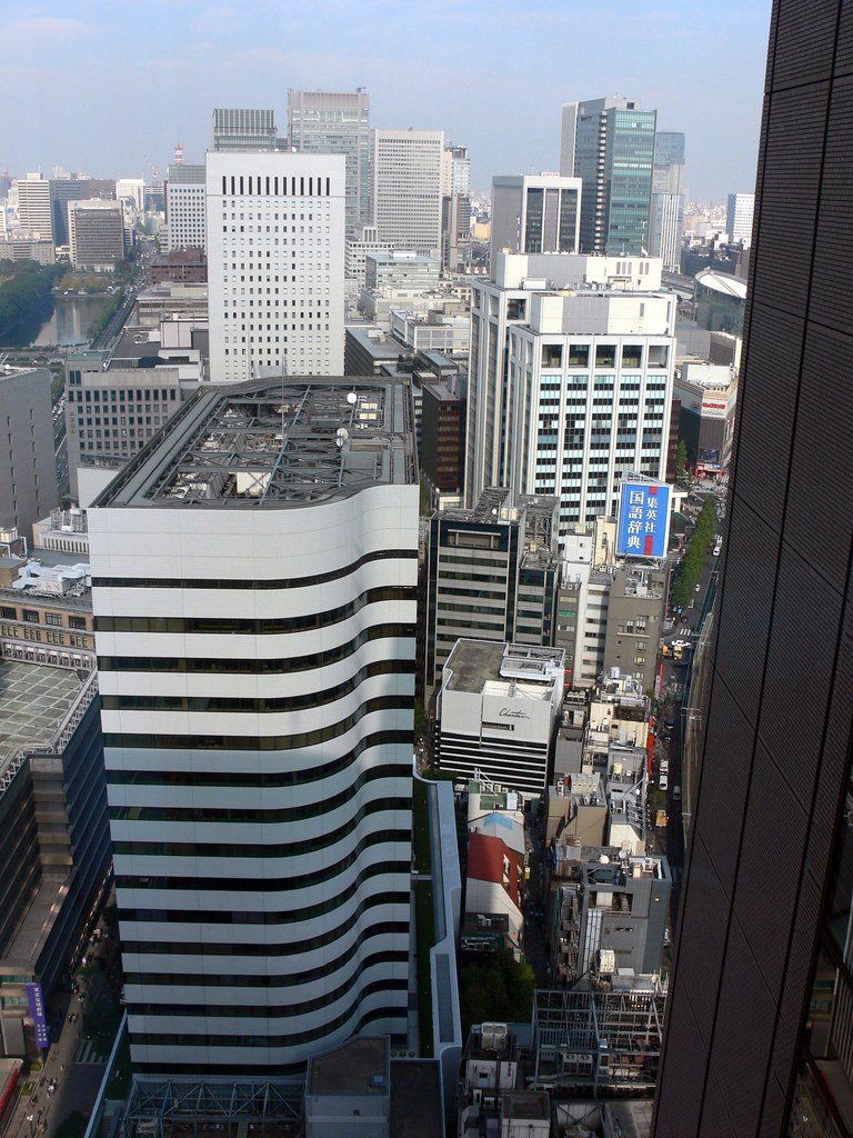 Window View, Imperial Hotel, Tokyo