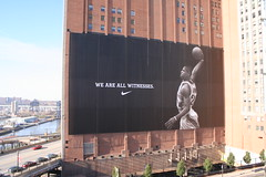 LeBron James Billboard: We Are All Witnesses (Erik Holmberg) Tags: 2005 ohio usa sign basketball james cleveland billboard signage oh lebron lebronjames cavaliers cavs